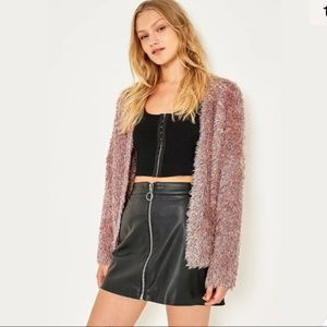Urban Outfitters Pins and Needles Fuzzy Cardigan